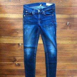 Rag&Bone size 26 Kensington skinny jeans